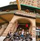 eureka springs motorcycle rides downtown basin park hotel