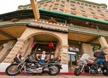 eureka springs motorcycle rides basin park hotel