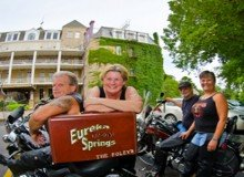 eureka springs motorcycle rides crescent hotel