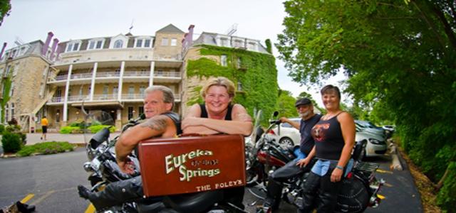 eureka springs motorcycle rides crescent hotel
