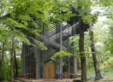 eureka springs motorcycle rides thorncrown chapel