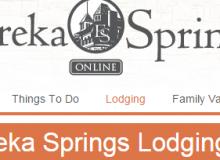 eureka springs online lodging