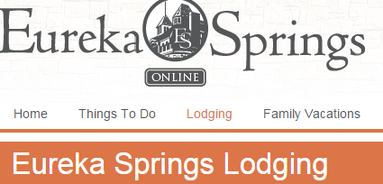 eureka springs online lodging